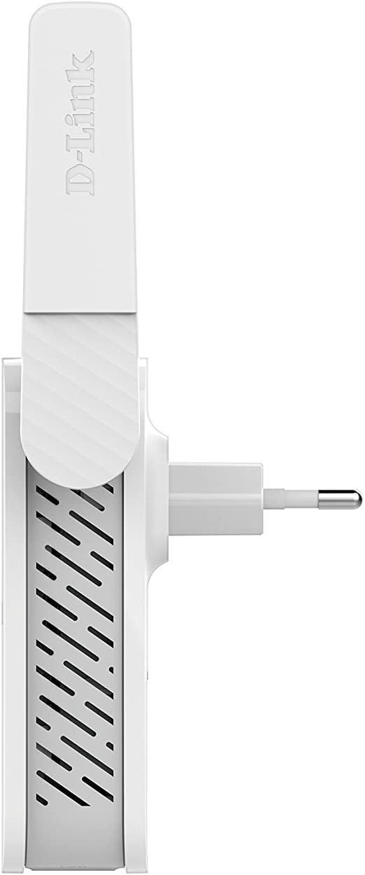 D-Link DAP-1610 - Repetidor WiFi AC1200 (1200 Mbps, Puerto de Red 10/100 Mbps, botón WPS, Antenas externas), Blanco