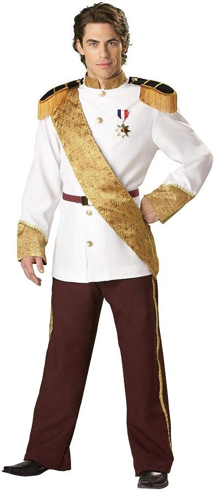 In Character Costumes Disfraz Príncipe élite de Cenicienta: Amazon ...