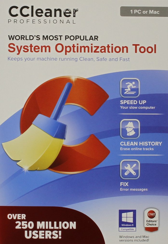 Ccleaner professional 1 pc or mac amazon software ccuart Choice Image