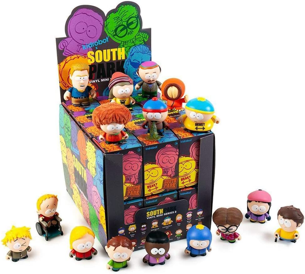 "3/"" Vinyl Figure South Park Mini Series 2 by Kidrobot Wendy"