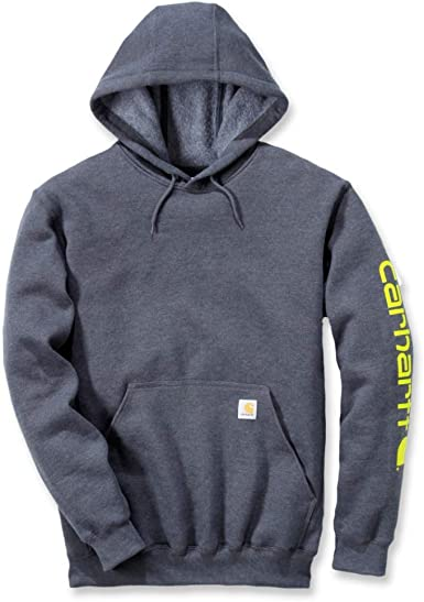 Carhartt Midweight Sleeve Logo Hooded Sweatshirt Camisa para Hombre