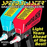 SpeedBlaster Gravity Feed Media Blaster - Red