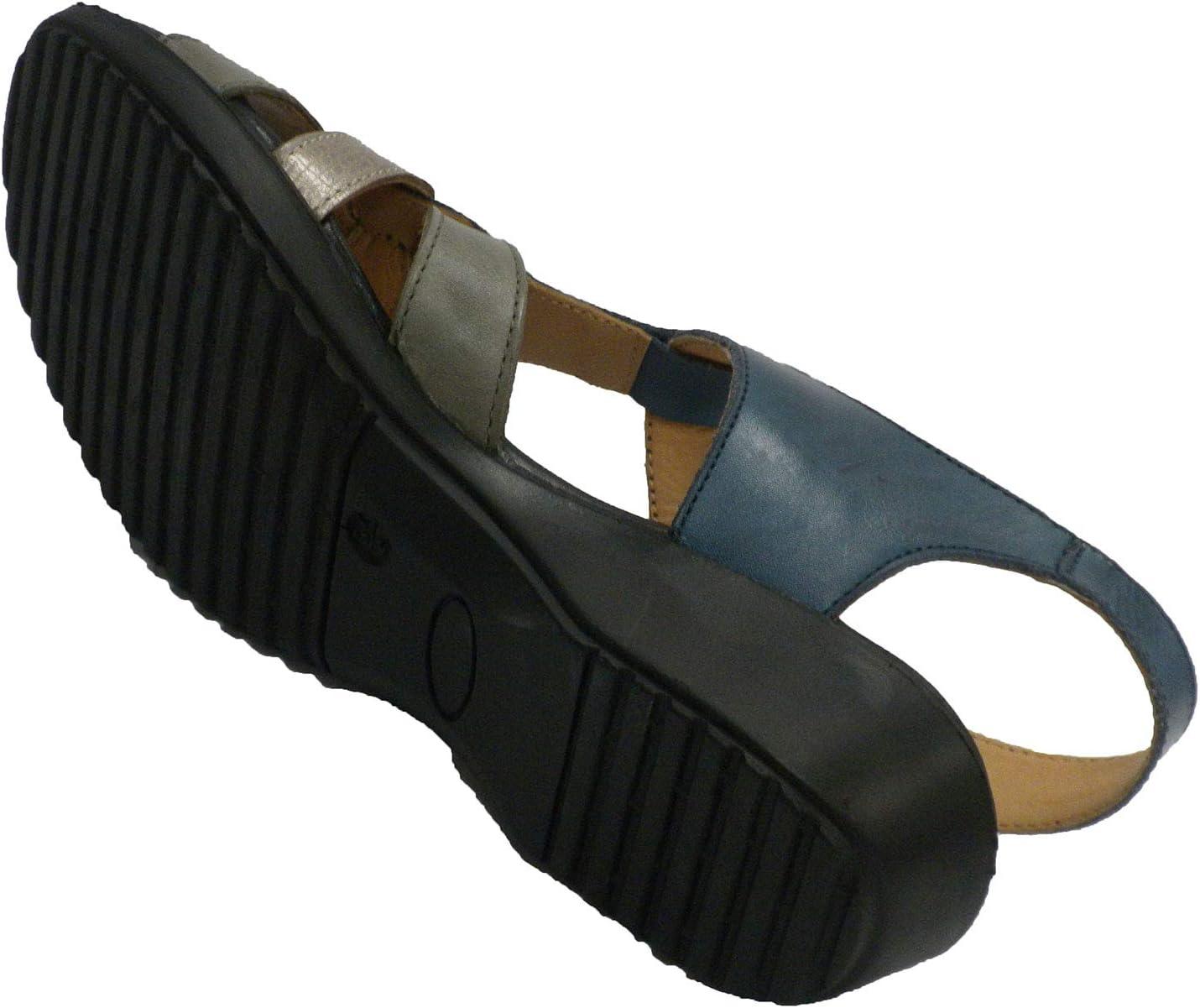 Doctor Cutillas sandalenvrouw zeer zacht en comfortabel marineblauw marineblauw
