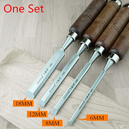 12 PIECE WOOD CARVING CHISELS SET QUALITY ALLOY STEEL