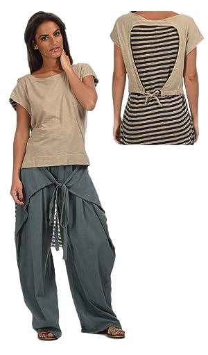 Heel Athens Lab Women's T-Shirt STELLEN S Beige