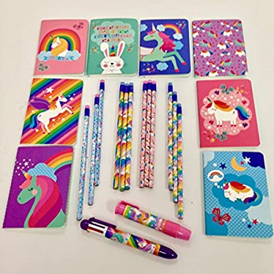 OOLY Unicorn Pocket Pal Journal, Pack of 8, 3.5