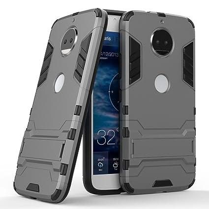 Funda Moto G5S plus, XINYUNEW 360 Grados Protective Caso ...