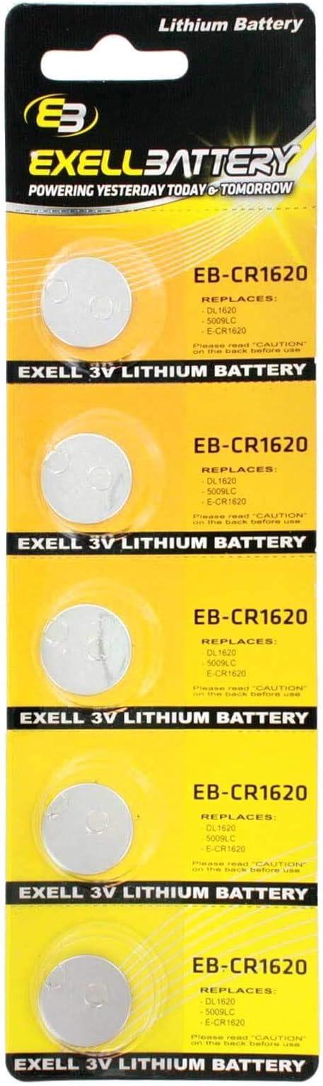 ENERGIZER 1620 LITHIUM 3 V CR1620 KCR1620 BR1620