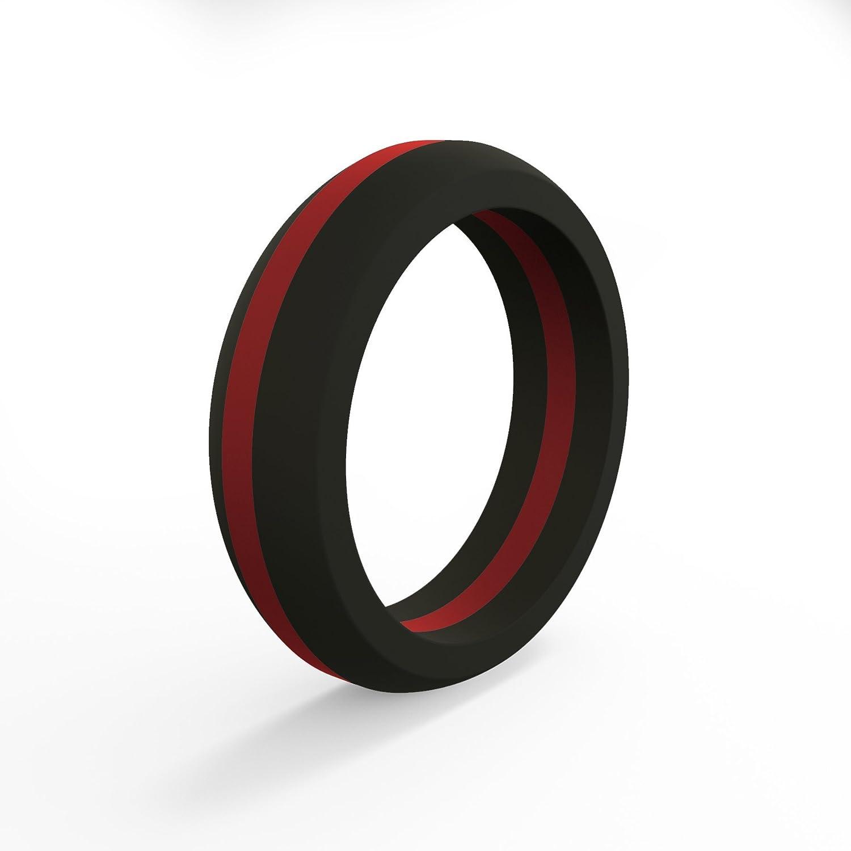 【超ポイントバック祭】 QALO-レディースシリコンリング(品質は、陸上競技、愛とアウトドア)は7-18のサイズを - B01E0CFI1O Red Ring Line - Red Silicone Ring 7 7|Red Line - Silicone Ring, K18ジュエリー cullent(カレン):ddfcf9ea --- arianechie.dominiotemporario.com