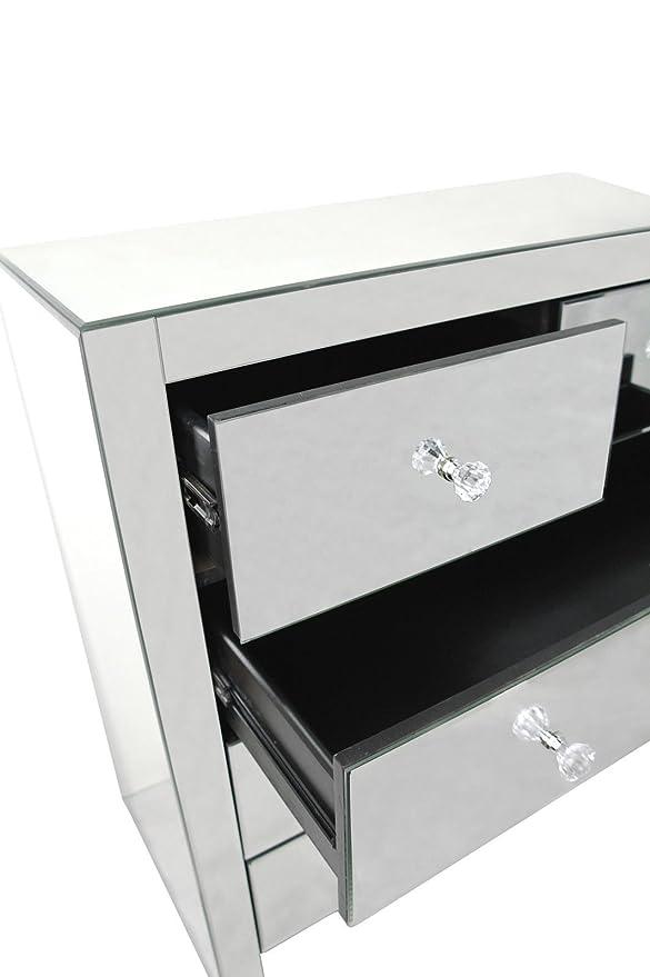 Maison 5 cajón Grande Veneciano Espejo Pecho: Amazon.es: Hogar