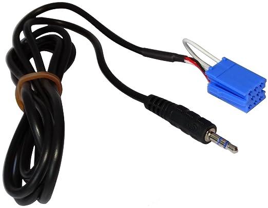3 opinioni per Aerzetix- A mini cavo AUX adattatore ISO per jack da 3,5 mm per autoradio .