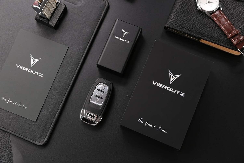 Luxury Key Fob Box VIERGUTZ Faraday Key fob Protector Box RFID Signal Blocker Pouch /& Anti-Theft case//Faraday cage Total Signal Blocking for Smart Keys. Black vertikal