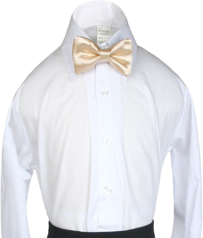 Classic Party Formal Tuxedo Suits Baby Boy Kid Men Satin Colors Bow Tie SM-XL
