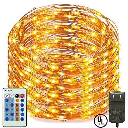 160 Warm White Multifunction Led Lights