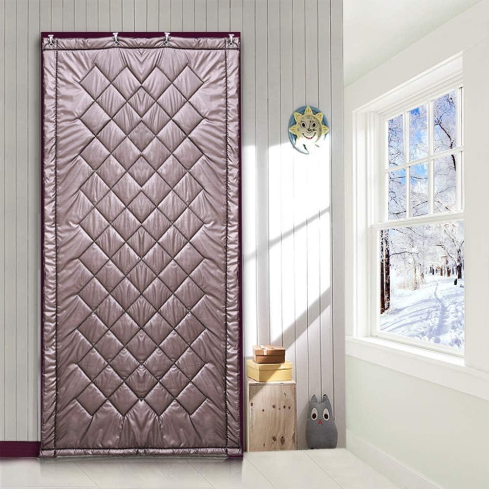 Nclon Cortina de algodón Casa Aire Dormitorio Keep Warm Espesar ...