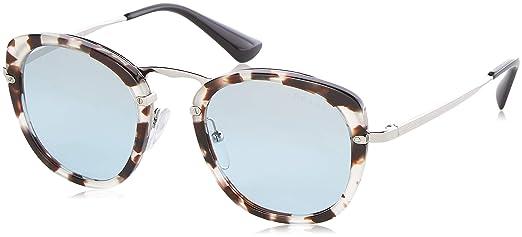 Prada 0PR 58US Gafas de sol, Spotted Opal Brown, 49 para ...