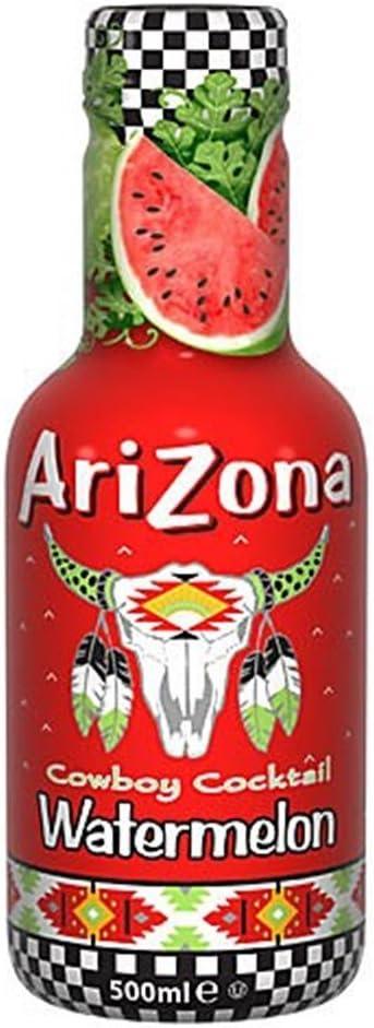 AriZona sandía jugo de bebida 6 x 500 ml: Amazon.es: Alimentación ...