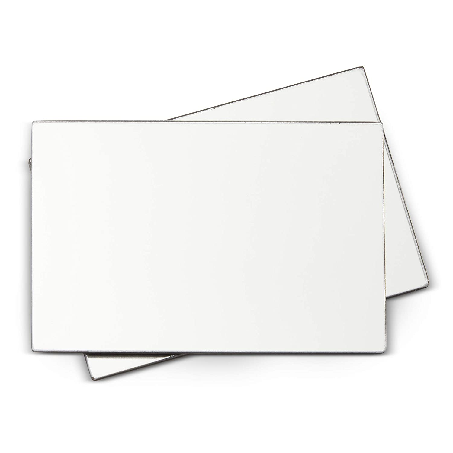Juvale Magnetic Locker Mirror (2 Pack) 4 x 6 Inches