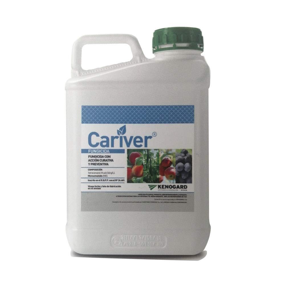 Funjicida Acción Preventiva y Curativa Cariver JED. Tratamiento en microemulsión. Bote 250 ml