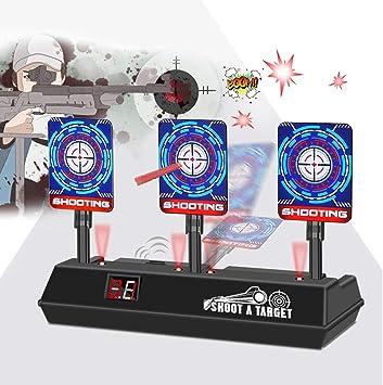 Oferta amazon: VEGKEY Objetivo Digital Electrónico para Pistolas Nerf,Objetivos de Tiro Eléctrico Reinicio Automático,Niños Electric Target Disparo para Juguete Pistolas N-Strike Elite / Mega / Rival Serie