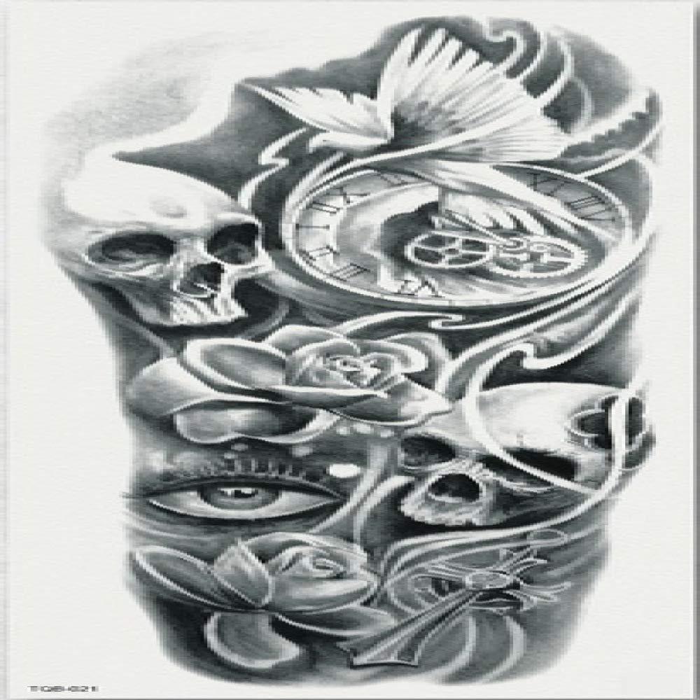 Handaxian 3pcsArm Impermeable Tatuaje de la Manga del Tatuaje ...