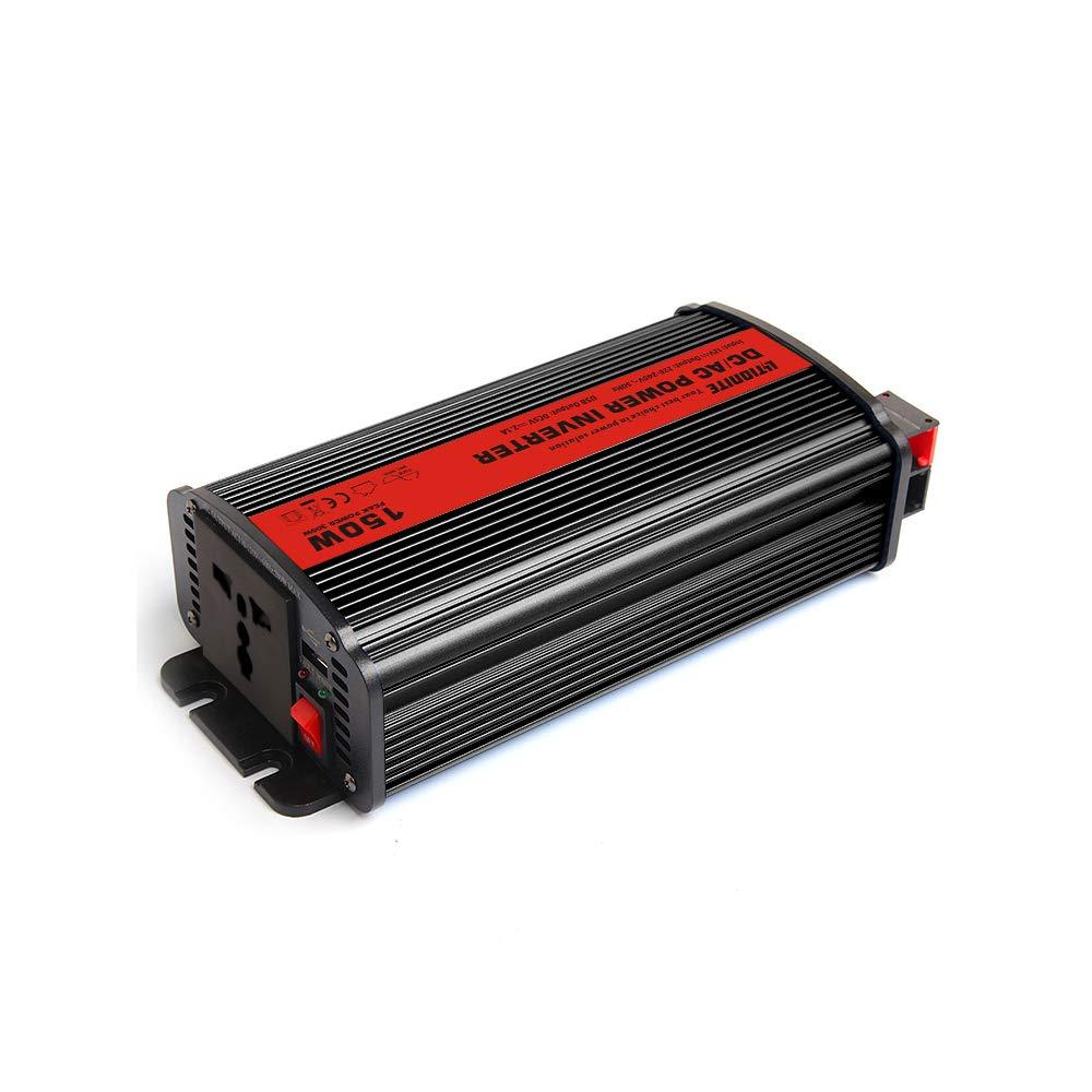 1x Presa di Corrente Universale Cavo adattattore accendisigari Invertitore di Potenza da 12V a 220V 1x USB Litionite Raptor 150W Inverter Professionale Onda Sinusoidale Pura per Veicoli//Auto
