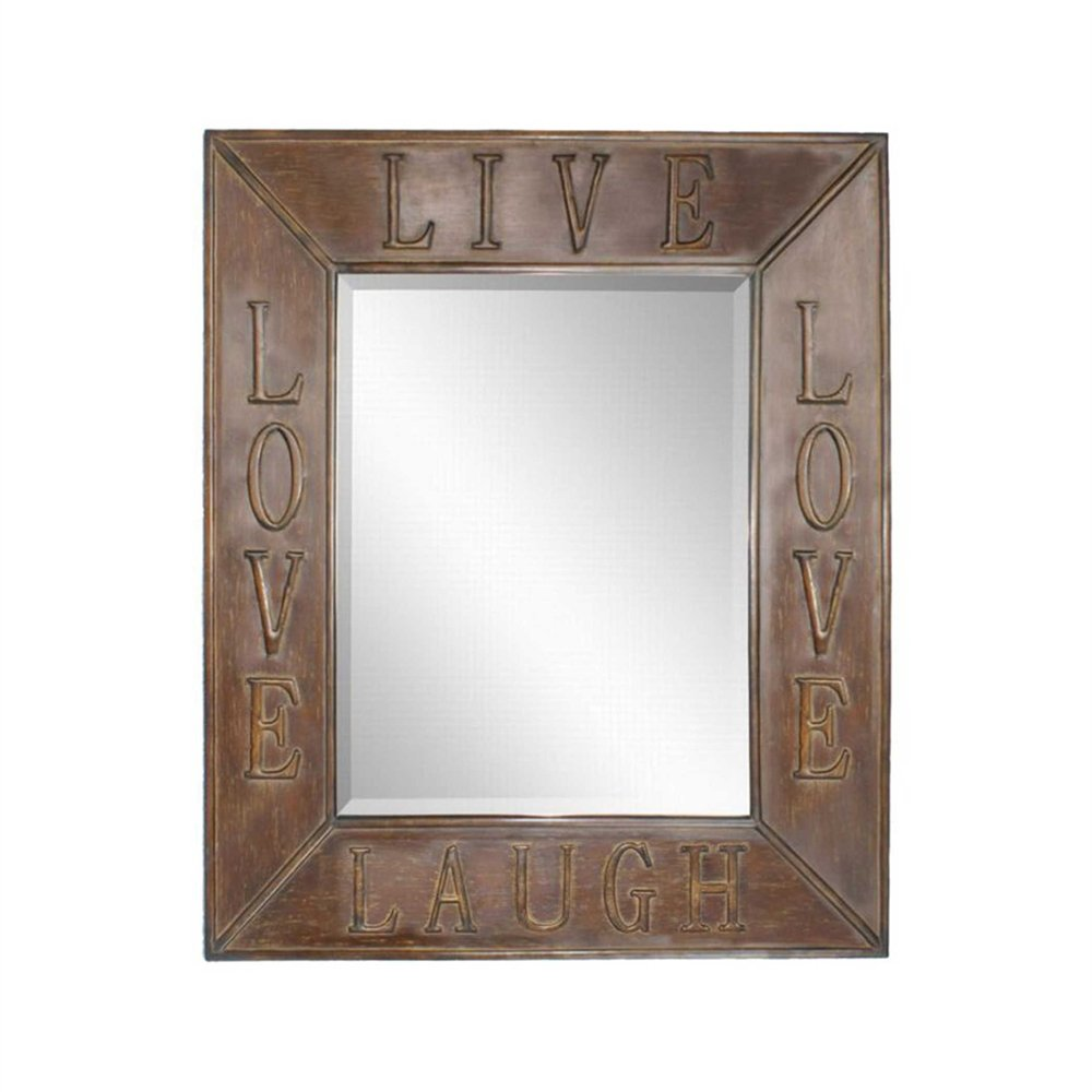 Uttermost Live Laugh Love Mirrors, Set/2 by Uttermost (Image #1)