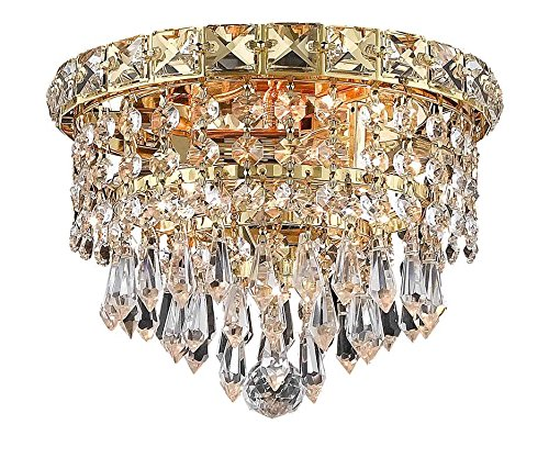 Light 2 Tier Crystal Chandelier - 6