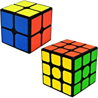 EASEHOME Speed Cubes Magic Puzzle Cube Set 2x2x2