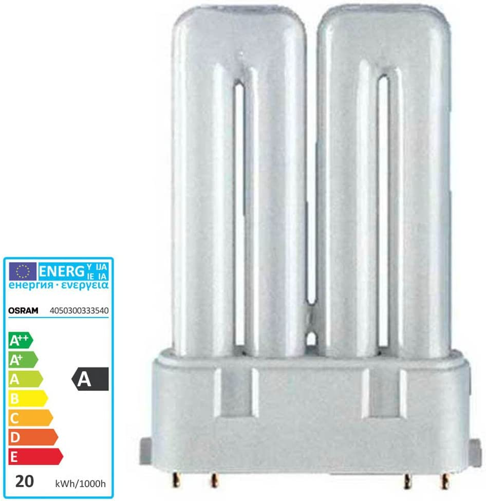 CF18DF//830 Double Tube 4 Pin Base Compact Fluorescent Light Bulb Osram 20551