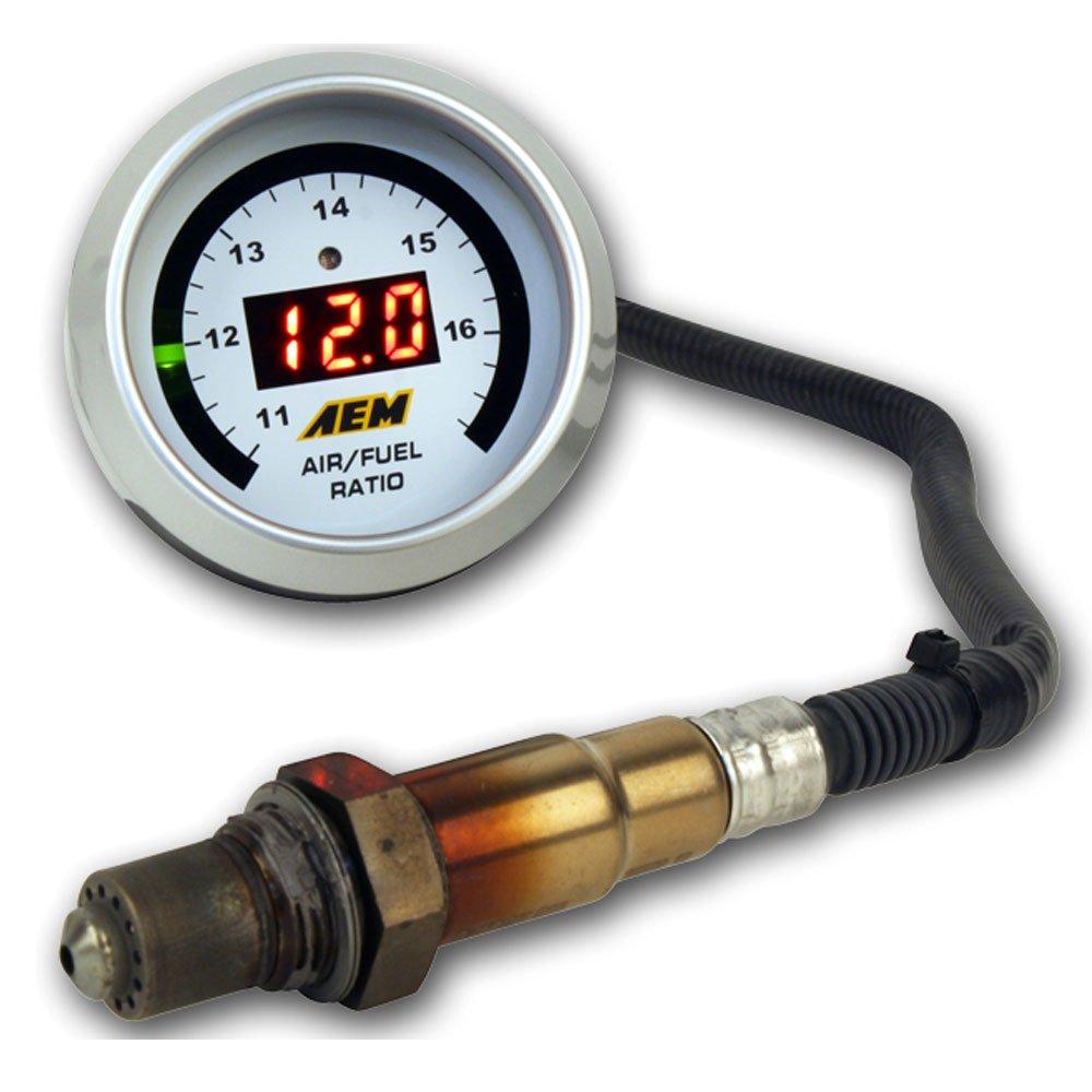 AEM Uego Gauge 17025 and Bosch Wideband Sensor 30-4110NS Kit