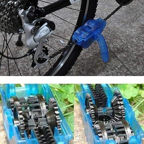 quttybrave Limpiador de Cadena de Bicicleta portátil, Cepillo ...