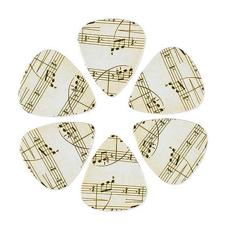 CLOUDMUSIC - Juego de púas para guitarra acústica, guitarra ...