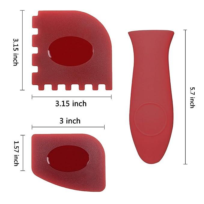 Haicheng 6 piezas Durable sartén parrilla espátula herramienta de ...