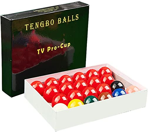 WXS Snooker Bolas de Billar, Reglamento de tamaño Completo Set 22 Bolas de Billar Snooker 2 1/16