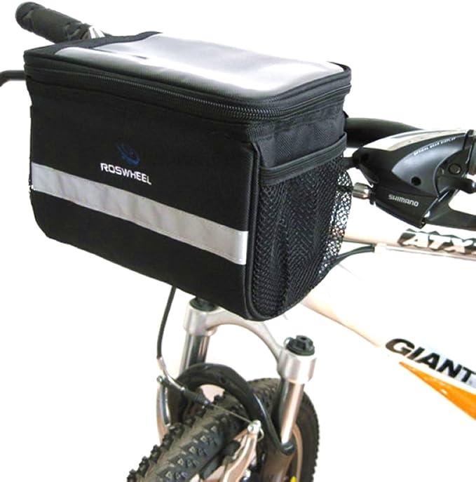 Bicycle Bags Waterproof Handlebar Canvas Bag Bicycle Front Basket Bicycle Front