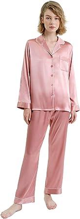 SIORO Pijama para Hombre, 100% algodón, Franela, Ropa de Dormir, Pijama a Cuadros Suave, Conjunto Loungewear