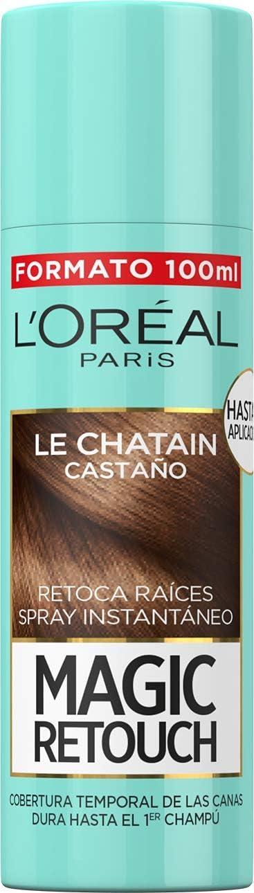 L'Oreal Paris Magic Retouch Spray Retoca Raíces Castaño 100 ml
