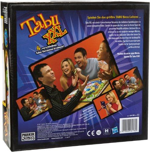 Hasbro Gaming 04199100 - Tabu XXL Partyspiel 2