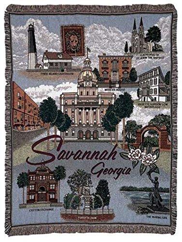 Simply Savannah, Georgia Tapestry (Georgia Tapestry)