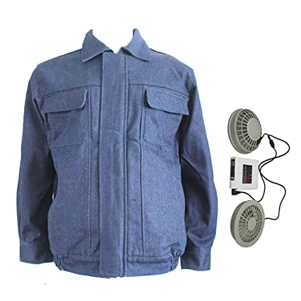 highly coveted range of timeless design 100% original Amazon.com : APENCHREN Cooling Fan Jacket for Men/Air ...