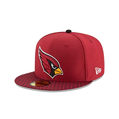 13922c830 Amazon.com: New Era Arizona Cardinals NFL 17 Sideline 59fifty Fitted Cap  Limited Edition: Clothing