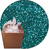 Glitter My World! Craft Glitter: 25lb Box: Jeweled Blue