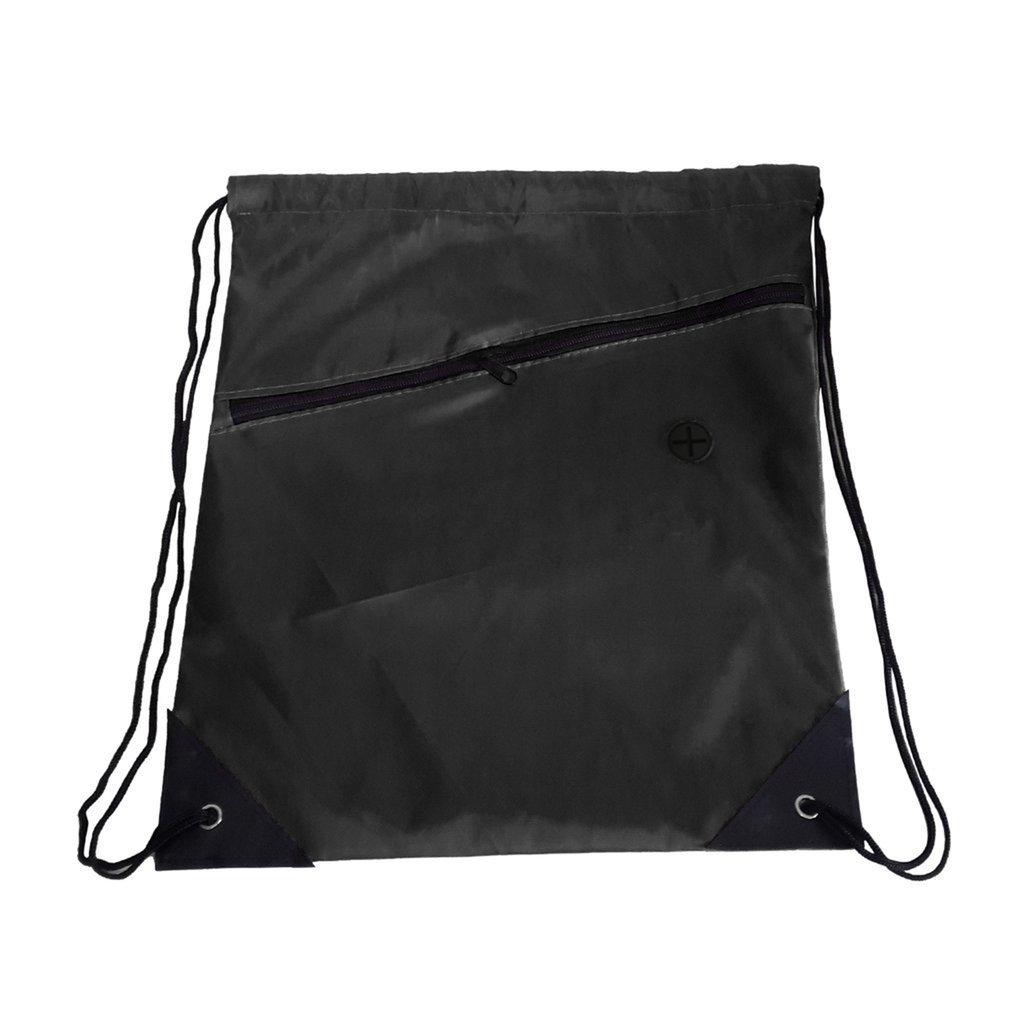 Mochila escolar universal con cordó n de polietileno, bolsa de deporte con cremallera DDGEDMMS