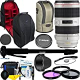 Canon EF 70-200mm f/2.8L IS II USM Lens + Expo Accessories Bundle