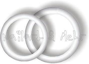 1 Bogen Nail Tattoos Ringe Silber Eheringe Hochzeit Heirat