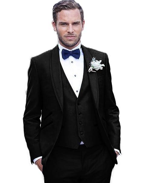 Amazon.com: Setwell - Traje para hombre, ajustado, para boda ...