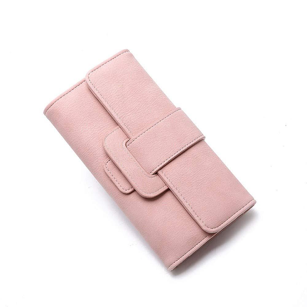 CBCADamen Lange Mode Mode Mode dreifachgefaltete Tasche Multifunktionsschnalle Hand nehmen Geldbörse, Fleisch Essen B07NRFNHLJ Damenhandtaschen Helle Farben fdd1f3