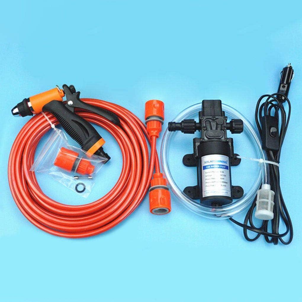 Republe Tragbarer Hochdruckreiniger Autoelektrik Auto Cleaning Kit Selbstansaugend Washing 12V Cleaning kit,Portable Pumpe