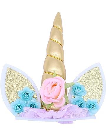 Cake Topper, Oro Hecho a Mano Feliz Cumpleaños Pastel Decoración/Cumpleaños Cake Toppers,